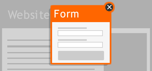 popup forms