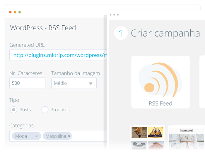 Wordpress RSS Feed - E-goi