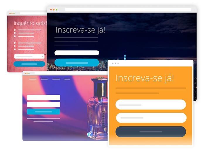 Modelos de Landing Pages
