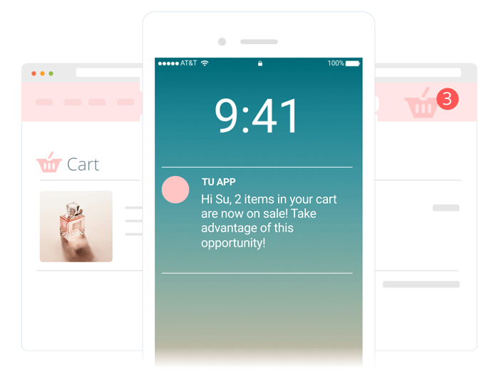 Behavioural Pics, Videos and Landing Pages - E-goi