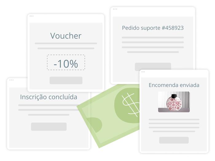 Emails e SMS transacionais pelo melhor preço - E-goi